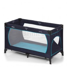 Hauck Dream`n Play Plus Манеж-кровать, navy aqua
